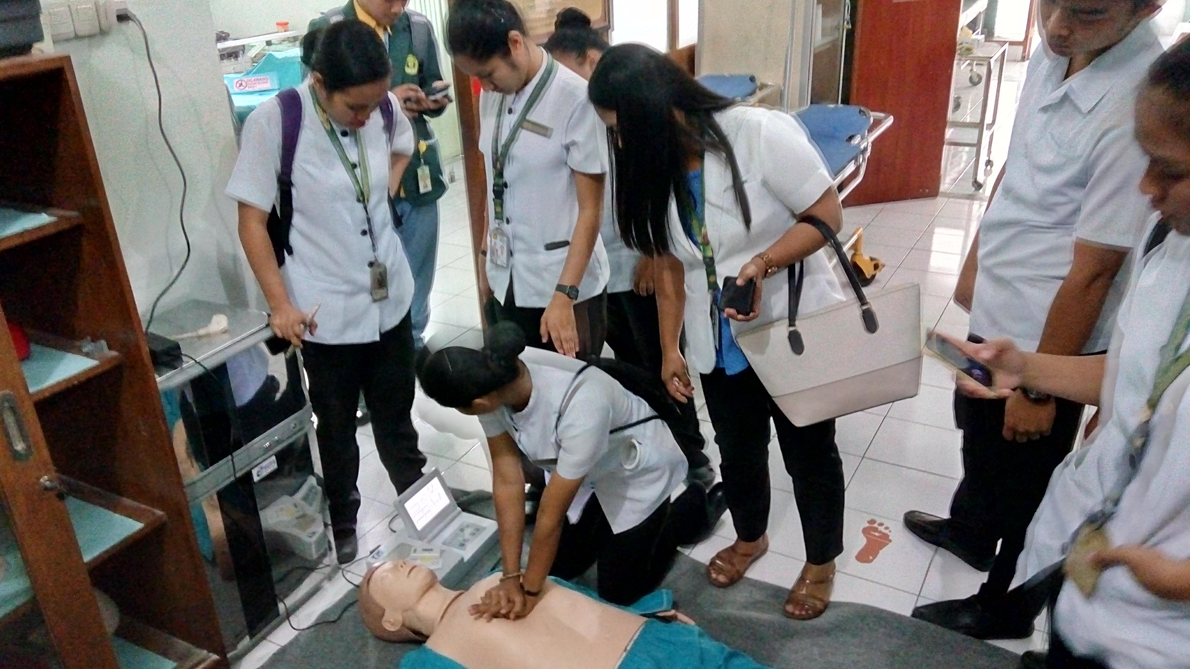 kunjungan mahasiswa dan dosen dari St. Paul University Philipines